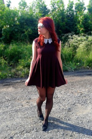crimson Zara dress