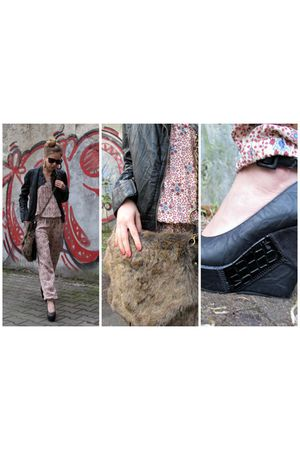 pull&bear accessories - Zara jacket - Zara suit