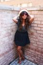 Red-forever-21-sunglasses-red-forever-21-shoes-blue-forever-21-skirt-gray-