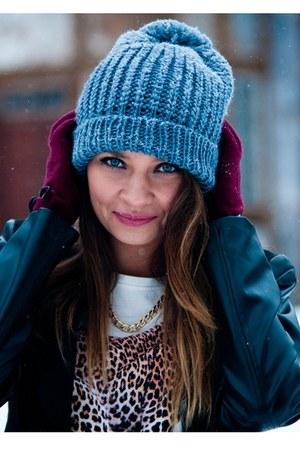 draywash hat - Top Secret blouse - Top Secret accessories
