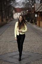 Baldowski boots - Top Secret jacket