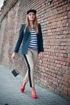 allegro hat - Top Secret bag - H&M blouse - Top Secret pants