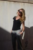 Ella Moss shirt - asoscom pants - christian dior sunglasses