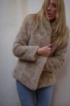 H&M coat - asos jeans - Michael Kors boots