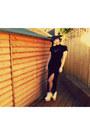 White-helga-deandri-shoes-black-vintage-dress