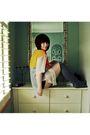 Orange-vintage-shirt-black-topshop-black-topshop-shorts-pink-portobello-ma
