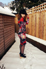 Black-black-helgas-deandri-shoes-red-floral-dress-jonathan-saunders-dress