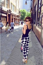 vintage YSL bag - vintage Ciao heels