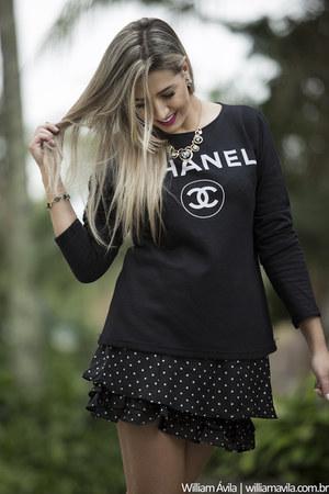 Tamabella Textil blouse - Tamabella Textil skirt