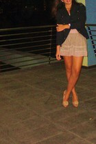 Zara skirt - Zara shoes - Sfera blazer - Zara blouse