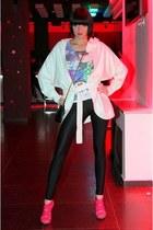 Topshop leggings - Dorothy Perkins cardigan