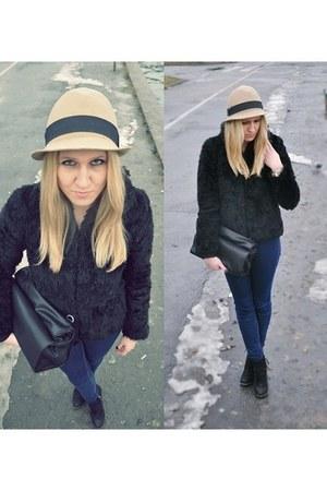 Zara bag - H&M coat