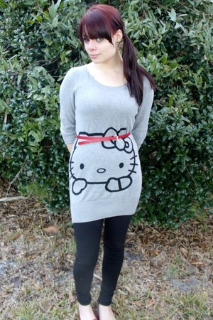 heather gray Hello Kitty Shirt shirt