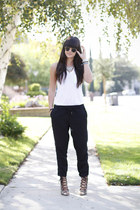black harem Joie pants