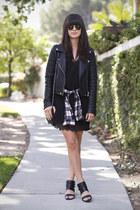 black slip dress asos dress
