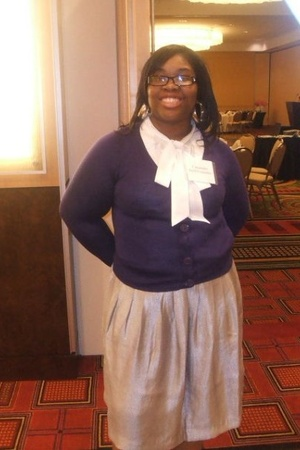 H&M sweater - Old Navy shirt - Old Navy skirt - Gucci glasses