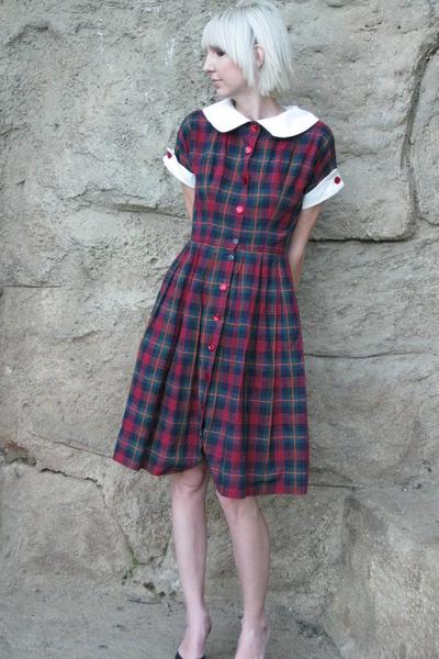 blue vintage from castawayvintage dress