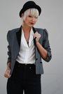 Gray-sasson-blazer-black-judi-rosen-jeans-white-vintage-blouse-black-vinta