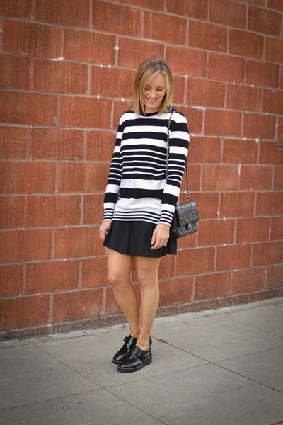 oxfords ASH shoes - Equipment sweater - JCrew skirt