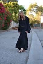 linea pelle belt - Parker dress - Steve Madden heels