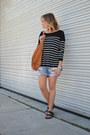 Black-striped-h-m-sweater-tawny-shoulder-linea-pelle-bag