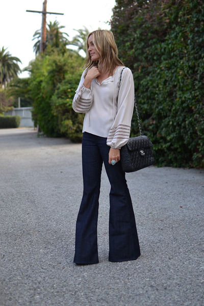 Bell Bottom 7 For All Mankind Jeans, Chanel Bags, Parker Blouses ...