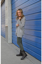 Qi sweater - rag & bone boots - J Brand pants