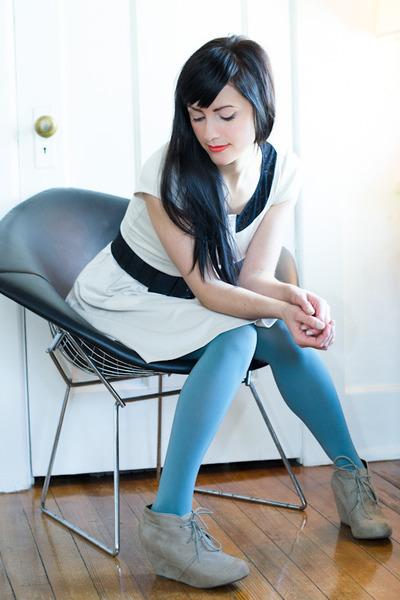 vintage ring - Target shoes - Lauren Conrad dress