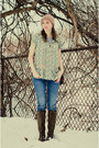 Wanted-boots-american-eagle-jeans-blu-pepper-blouse