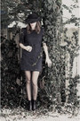 Miz-mooz-boots-tulle-dress-vintage-hat