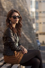 Leather-jacket-stradivarius-jacket