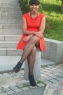 New-look-shoes-h-m-dress-zara-stockings-local-store-necklace
