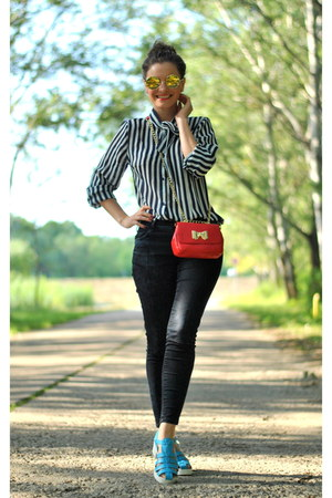 stripes Sheinside blouse