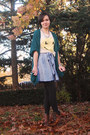 Urban Outfitters cardigan - Wildfox t-shirt - Urban Outfitters skirt - Target ti