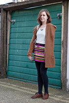 magenta missoni for target skirt - brown Topshop shoes