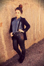 Black-leather-pants-h-m-pants-blue-denim-h-m-blouse-black-h-m-accessories