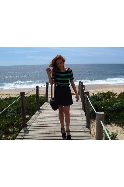 Primark skirt - zigi girl shoes - Zara shirt - Parfois bag