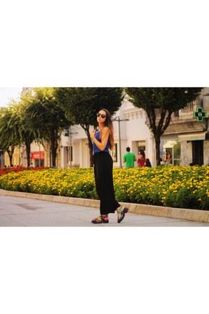 black platform Ebay sandals