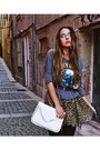 Gray-guns-n-roses-vj-style-sweater-white-studded-vj-style-bag