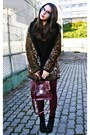 Black-wholesale-dressnet-boots-beige-leopard-local-store-coat
