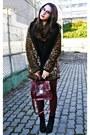 Black-wholesale-dressnet-boots-beige-leopard-local-store-coat