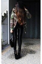 black disco pants Glamorous leggings