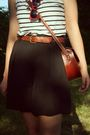 White-thrifted-shirt-black-thrift-shorts-brown-thrift-shoes-brown-little-o
