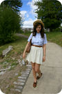 Blue-vintage-blouse-white-vintage-skirt-brown-oxfords-shoes-beige-boater-h