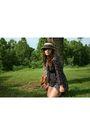 Blue-shop-dixi-dress-brown-cynthia-vincent-shoes-brown-thrift-purse-beige-