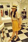 Beige-creampuff-blouse-gold-missocd-skirt-beige-forever-21-hat-white-vinnc