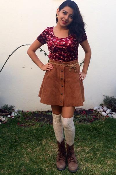 Suede skirt forever 21 – Modern skirts blog for you