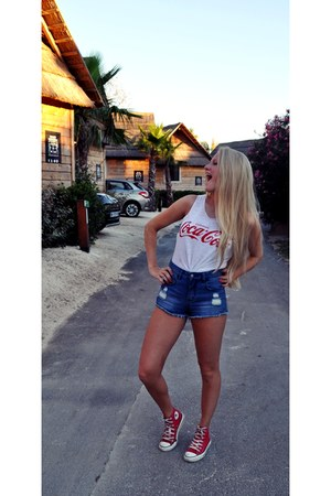Ebay shirt - Flattop shorts