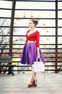 Light-purple-oasap-bag-red-thrifted-h-m-top-purple-sheinside-skirt