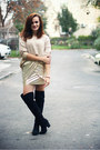 Black-over-the-knee-new-look-boots-gold-oasap-sweater